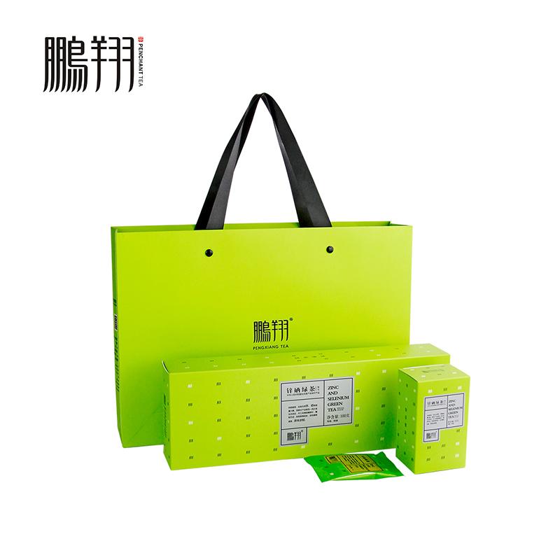 【鹏翔】 锌硒绿茶 挚交100条盒