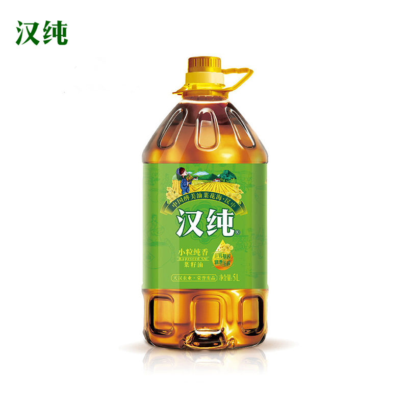汉纯小粒纯香菜籽油5L