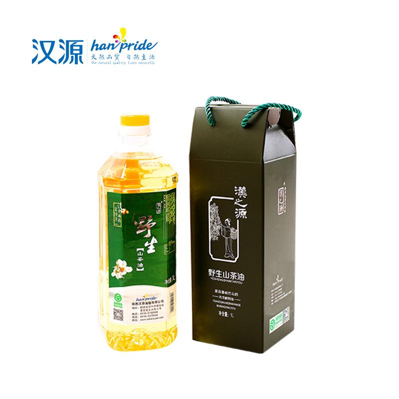 【汉源】汉之源野生山茶油家庭实惠装1L